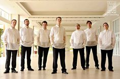 barong for groomsmen - Google Search