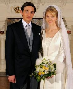 Archduchess Marie-Christine wed Count Rodolphe of Limburg-Stirum on December 6 2008