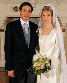 Archduchess Marie-Christine wed Count Rodolphe of Limburg-Stirum on December 6 2008