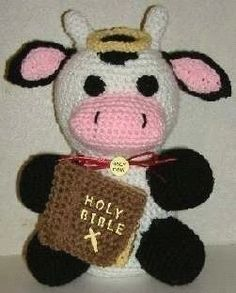 How to make a cow plushie. Holy Cow! - Step 2