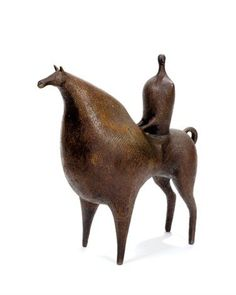 View Cavalier étrusque by Francois Raty on artnet. Browse upcoming and past auction lots by Francois Raty. Horse Sculpture, Modern Sculpture, Animal Sculptures, Ceramic Animals, Ceramic Art, Art Eras, Art Ancien, Equine Art, Old Art