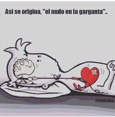 """""""This is how it originates, 'the knot in the throat'"""" Sad Love, Love You, Heart Vs Brain, Love Quotes, Inspirational Quotes, Love Phrases, Spanish Quotes, Nostalgia, Anime"""