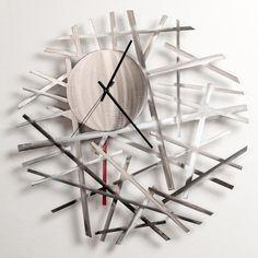 Girardini Design Contrails Wall Clock Artistic Arisan Designer Clocks