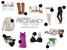 Sharing my Top 12 Second Trimester Pregnancy Must Haves. What to wear, how to eat healthy, and safe, natural beauty products to use. www.blissfullyeverafter.net #pregnancy #fashion #beauty #health #healthypregnancy #fitpregnancy