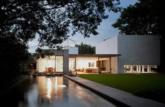 Yucatan House by Isay Weinfeld in the leafy neighborhood of Jardim America, in São Paulo, Brazil. The Inhabitants are contemporary art collectors who wanted a spacious, bright and informal atmosphere home.