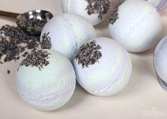 Cucumber & Lavender Bath Bomb DIY