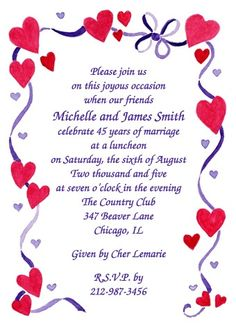 Heart frame anniversary invitation template 25th 50th wedding exclusive wedding anniversary invitation designs currently discount to per party invite create lifetime memories with our trendy anniversary party stopboris Image collections