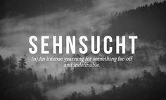 #sehnsucht