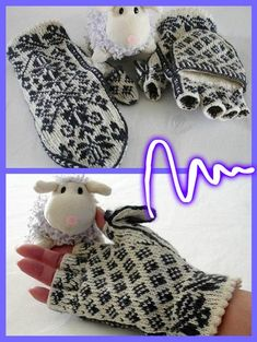 Bilde Mitten Gloves, Mittens, Russian Winter, Fair Isle Knitting, No Name, Crochet Hats, Community, Wall Photos, Knits