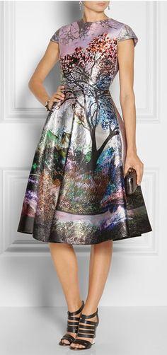 Dress of the season - Babelonia Fauwi Metallic Jacquard. Shop here: http://www.net-a-porter.com/product/383637