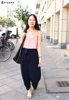 #ABOUTKISURA // our stylist Evelyn #AboutKISURA #personalstylist #ootd #culottes #sandals #cute #look