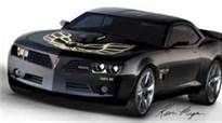 2013 Pontiac Firebird Trans Am. GM screwed up when they laid Pontiac to rest.