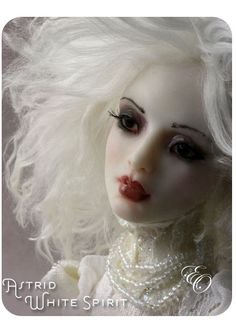 Beautiful ghostly Doll