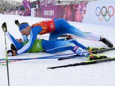 Sochi 2014 Day 13 - Cross Country Men's Team Sprint Classic - Claire Ann Peetz Blog