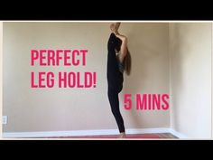 HOW to Get a PERFECT LEG HOLD in 5 MINUTES! - YouTube
