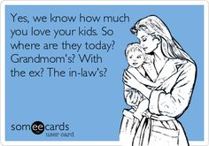 Makes me sick! Take care of your own kids! Don't have someone else raising them then keep having them!