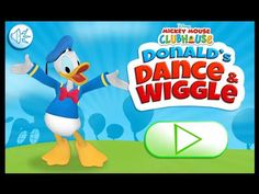 Mickey Mouse Clubhouse - Donald's Dance and Wiggle - Donald Duck Dancing Game