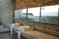 Rustikales Badezimmer, modern und trendy - http://schickmobel.com/rustikales-badezimmer-modern-und-trendy/