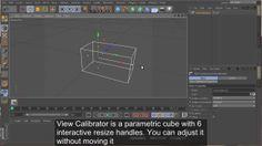 View Calibrator Free Cinema 4D plugin on Vimeo