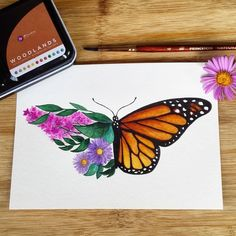 Best Photographs Butterfly Garden drawing Concepts A butterfly garden is no harder than some other garden together with quick and easy tips you can act butterfly drawing Cute Canvas Paintings, Small Canvas Art, Easy Canvas Painting, Mini Canvas Art, Summer Painting, Drawing On Canvas, Hope Painting, Easy Canvas Art, Simple Acrylic Paintings