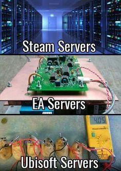 #EA #Ubisoft #steam