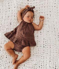 Baby Girl Fashion, Kids Fashion, Cute Kids, Cute Babies, Cute Baby Pictures, Western Baby Pictures, Sleeping Baby Pictures, Cute Baby Girl Outfits, Dream Baby