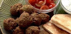 Falafel -...  love these.. and a link to a board with tons of links for middle eastern food recipes..  http://pinterest.com/trueglamourx3/hungry-and-homesick/