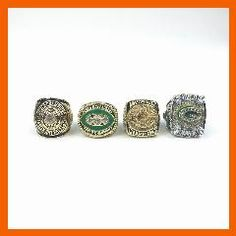 [ 20% OFF ] Replica Super Bowl American Football 1966/1967/1996/2010 Green Bay Packers Set Championship Rings