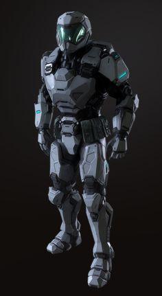 Old Power Armor, Andrew Mezentsew