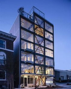 warehouse loft apartment exterior. The eight units in the award winning 1310 East Union Lofts Seattle  feature commercial storefront style windows and concrete floors urban warehouse exterior Google Search Caz Loft Pinterest