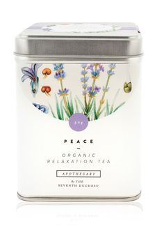 Peace is to unwind from the rigours of the day and to enjoy a moment of repose. Herbal and fragrant, it is a serene, tranquil tisane with the sole purpose of relaxing the body and easing the anxieties of the mind. Providing a release from tension and promoting a restful sleep, this tisane offers calm.