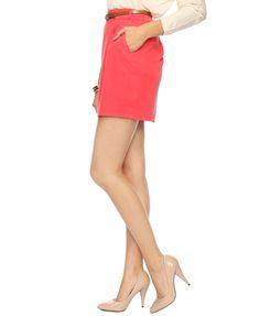 Forever 21 - belted woven skirt