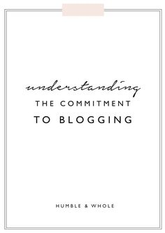 You've got your blog