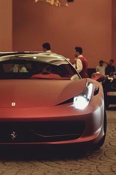 Matte Red Ferrari 458 Italia