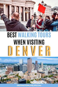 Joining a Denver walking tour is a fantastic way for visitors to explore the Mile High City. But if you're a Denver tourist, it's hard to know the BEST Denver tours to choose from. So I've done the heavy lifting for you! Click here to learn more about the best walking tours Denver has to offer. Denver Walking | Walking Around Denver | Denver Tour Guide | Denver Tour | Denver Colorado Tours | Denver Ghost Tours | Denver Food Tour | Denver Beer Tour | Denver Travel Guide | Denver Travel Tips