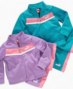 Puma Baby Set, Baby Girls Track Jacket and Pants - Kids Baby Girl (0-24 months) - Macy's