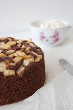 Schoko Birnen Kuchen, herrlich schokoladig, von Sweets and Lifestyle Cupcakes, Bakery, Food And Drink, Cookies, Breakfast, Sweet, Blabla, Muffins, Goals