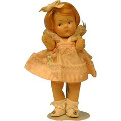Vintage Vogue Ginny Toddles Needs TLC from dollery on Ruby Lane