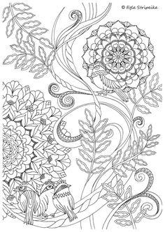 Leidėjas: Alma Littera Užpildykite gyvenimą spalvomis! 12 spalvinimo lapų su piešiniais, įkvėptais gamtos ir gyvenimo grožio.Vienpusiai storesnio popieriaus lapai pradžiugins...