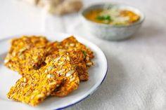 Biscuiți din MORCOV, DOVLECEI, semințe si cereale, fără foc – pot înlocui pâinea din comerț - La Taifas