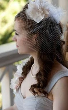 CRAFT: DIY Birdcage Veil  (The fashion history buff in me hopes that birdcage veils become a Thing, because I wanna wear one out without getting so many you-are-weird looks)