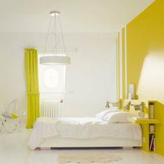 Du jaune pour dynamiser l'espace