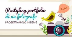 Restyling portfolio di un fotografo: progettiamolo insieme #webdesign #inspiration #portfolio #restyling