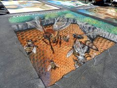 By Tracy Lee Stum in Madonnari, Italy at Madonnari Street Painting Festival, 2012. Photo 1.