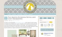 Rooster and the Hen blog design by Deluxe Designs