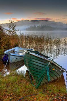 The Boats, Kinlochard, Écosse, Royaume Uni