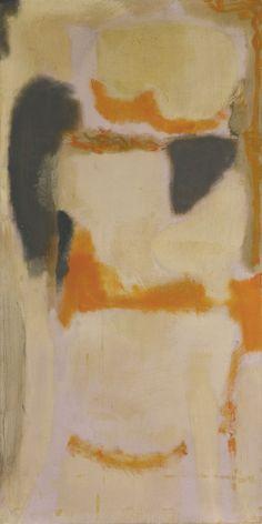 dailyrothko: Mark Rothko No. 10 1948 oil on canvas 54 x 27 1.2 in. 137.2 x 69.8 cm.