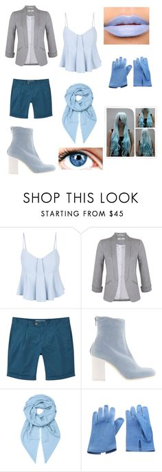 """""""Underswap Sans: Female"""" by lily-poindexter ❤ liked on Polyvore featuring Miss Selfridge, MANGO, MARIOS, Loewe and Hermès"""