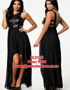 ELD135 - PRICE: R399  AVAILABLE SIZES: S/M (Size 8-10 / 32-34) To order, email: sales@sultryfashions.co.za Dresses For Sale, Prom Dresses, Formal Dresses, Fashion, Dresses For Formal, Moda, La Mode, Fasion, Gowns
