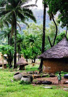 Togolese Village - Kara, Togo